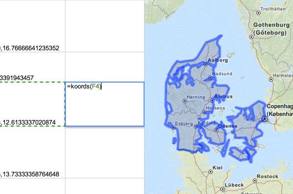 Geocoding in Google Docs: GeoJSON boundaries with