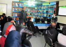 Thirteen Afghan journalists participated in the first-ever data journalism workshop held in Afghanistan. (credit: Internews)