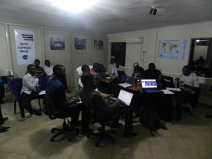 Participants at the Hack4Good 2014 in Nigeria