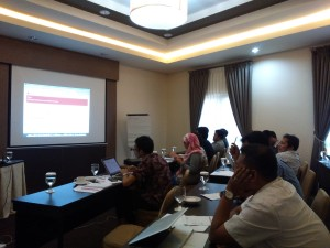 Capacity Building Workshop for Publish What You Pay Indonesia