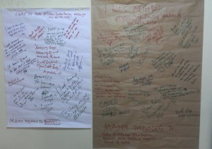 What participants said about the 2 - day event