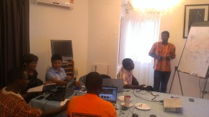 Open Data Party in Accra Ghana