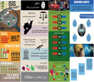 Static Infographics developed by the students at the workshop.