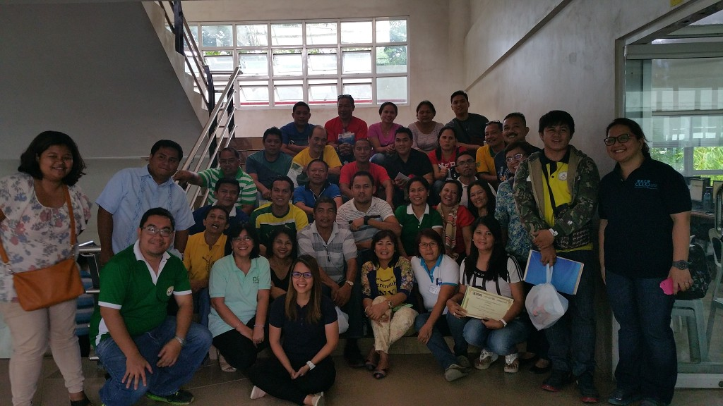Northern Mindanao region participants promised to work on their data management skills as part of disaster preparedness.